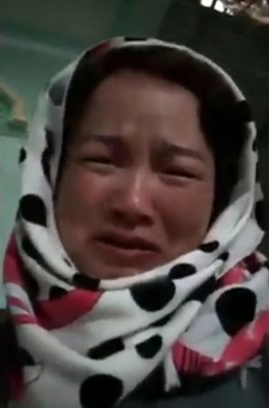 Bà Trần Thị Hiền, mẹ nữ sinh Cao Thị Mỹ D.