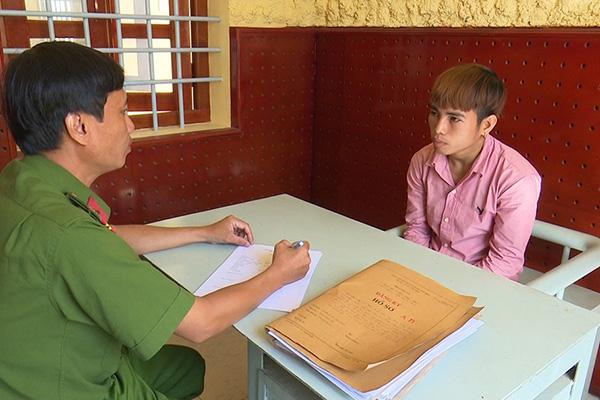 Nguyễn Văn Khang kh.ai n.hận tại cơ quan Công an.