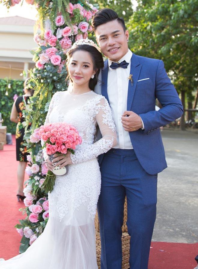 Lê Dương Bảo Lâm kết hôn với Quỳnh Anh từ năm 2017.