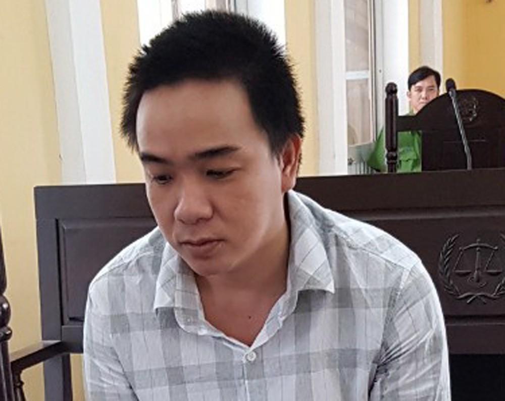 Bị cáo Châu Hữu Hạnh.