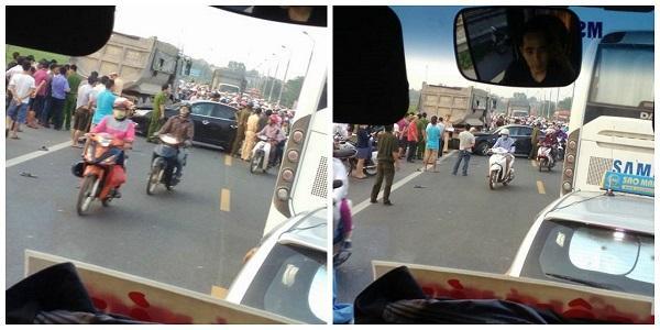 Hình ảnh tai nạn ở Bắc Giang