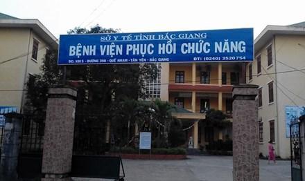 Bệnh viện phục hồi chức năng Bắc Giang.