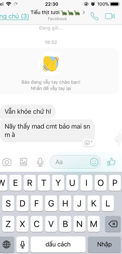 Và bất ngờ là sau khi đi cầu ở chùa Hà về thì chàng trai ấy bỏ chặn và chủ động nhắn tin trước cho cô nàng.