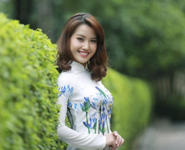 Dương Hồng Nhung, thiếu nữ Bắc Giang lọt top 4 thí sinh xuất sắc nhất cuộc thi Miss Photo 2017. Ảnh: An ninh thủ đô