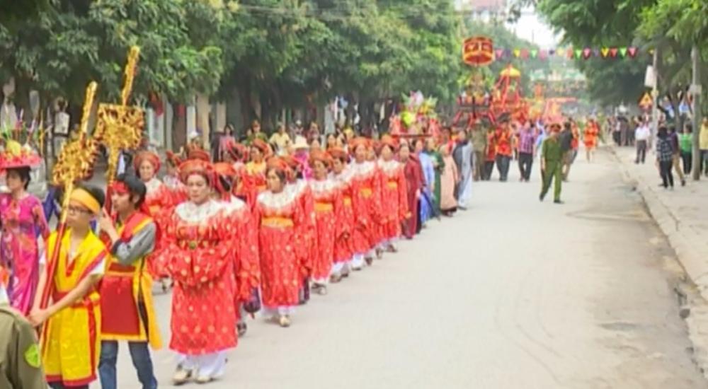 Lễ hội dân gian Phố Hiến năm 2016