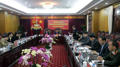 Phó Chủ tịch nước cùng đoàn công tác làm việc với tỉnh Bắc Kạn