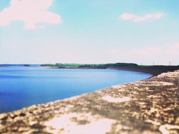 Hồ Trị An nước xanh gió mát - Ảnh: @haianh00