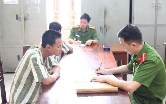 Các đối tượng chống người thi hành công vụ đã bị bắt giữ
