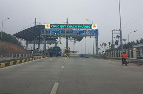 Trạm thu phí BOT Thái Nguyên - Chợ Mới.
