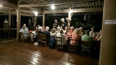 Loại hình du lịch homestay đang được du khách- nhất là người nước ngoài thích thú khi đến Ba Bể.