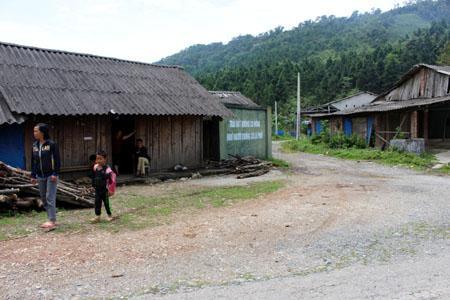 """Ngã ba thôn Nặm Làng, từng là nơi """"tụ hội"""" dừng chân của nhiều khách vãng lai khi đến mỏ vàng Ma Nu"""