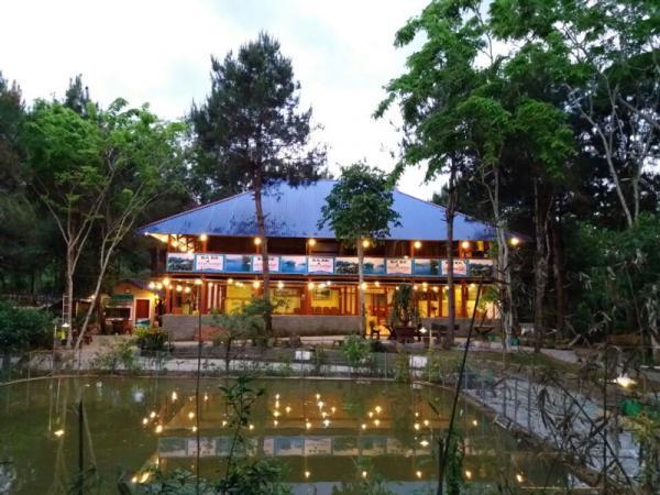 Một góc khu du lịch sinh thái Lê Hùng