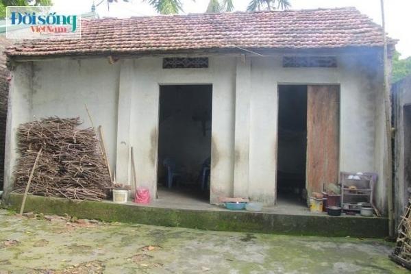 Ngôi nhà của ông Tài và bà Đầm ở Quốc Oai, Hà Nội. Ảnh C.N