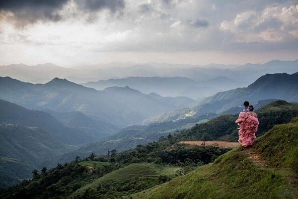 Trên đỉnh Mẫu Sơn, Lạng Sơn. Ảnh: Mathieu Arnaudet - 500px.com.