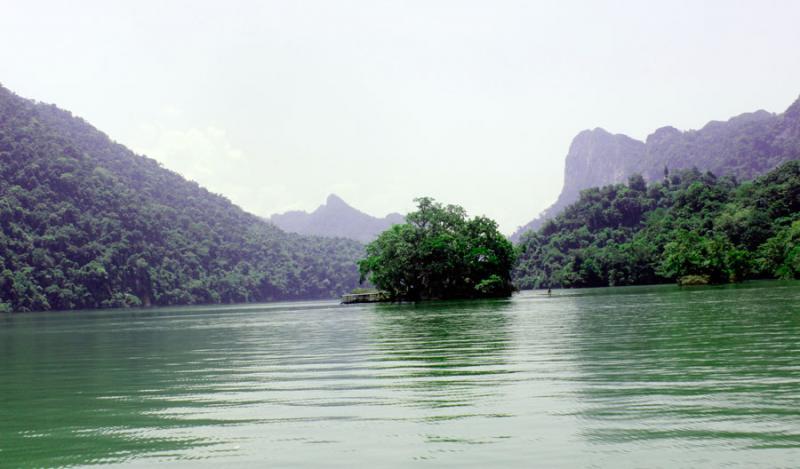 Đảo Bà Góa sự tích về Hồ Ba Bể