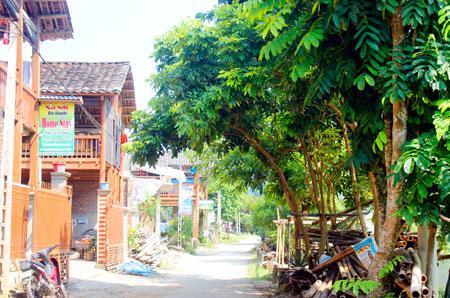 Du lịch Homestay ở Pác Ngòi thu hút khách quốc tế.