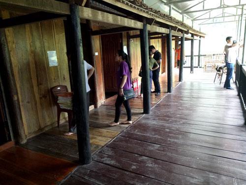 Trải nghiệm nhà sàn Homestay (du lịch cộng đồng) tại thôn Pác Ngòi, xã Nam Mẫu