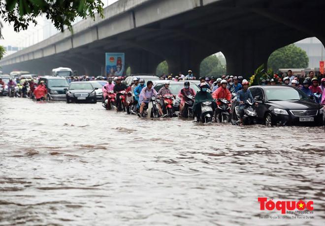 Dự báo sẽ có mưa to tới rất to tại Bắc Bộ. Ảnh minh họa: Nam Nguyễn