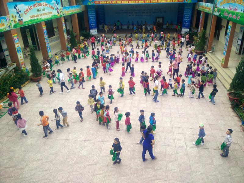 Các trường hợp bị tính thiếu tháng hỗ trợ tiền ăn trưa tại Trường Mầm non Phùng Chí Kiên đã được chi trả đủ.