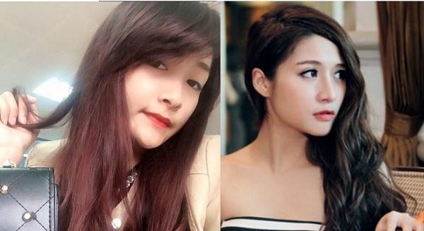 Ở góc chụp nghiêng, có thể thấy cô gái dân tộc Thái như bản sao của hot girl Vân Navy.