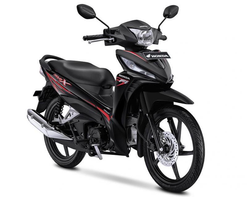 Honda Revo X thế hệ mới phiên bản màu đen-đỏ.