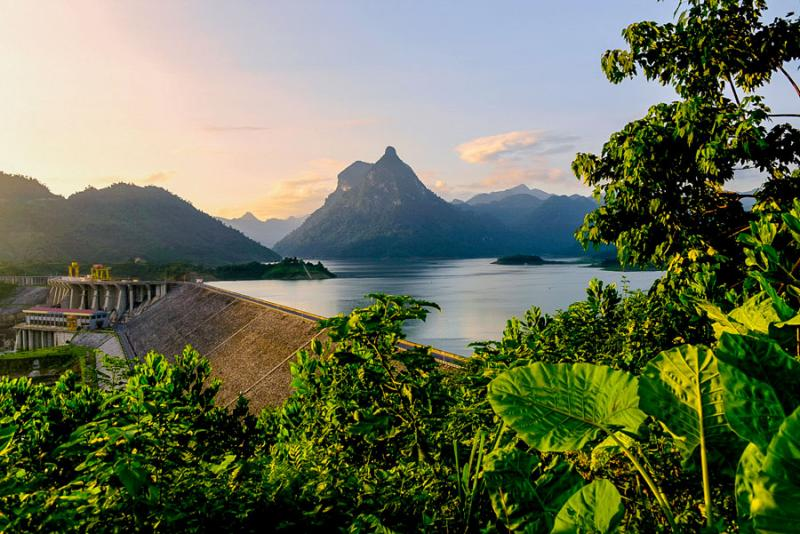 Hồ sinh thái Na Hang, Tuyên Quang.