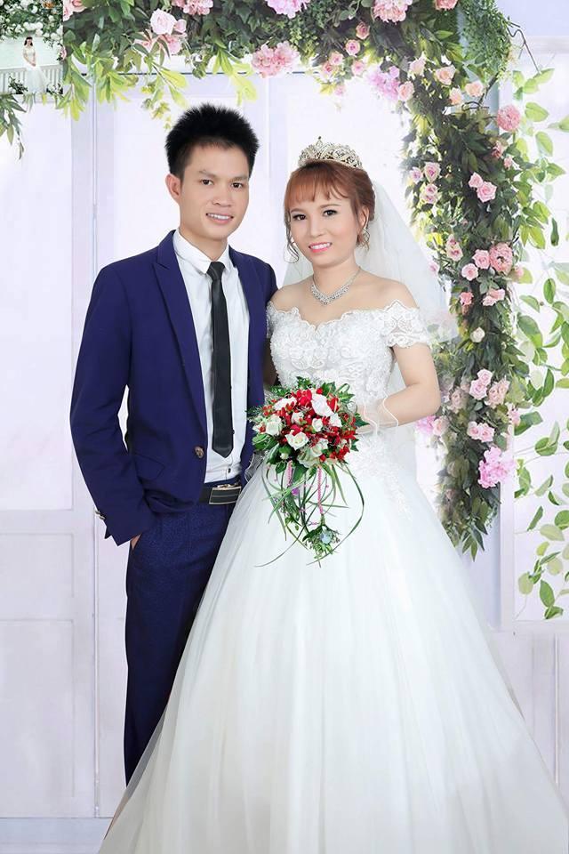 Ảnh cưới của ô dâu - chú rể.