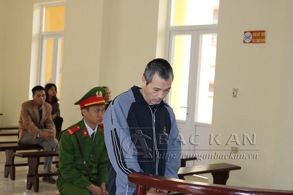 Đối tượng Nguyễn Thuyết Cường tại phiên tòa