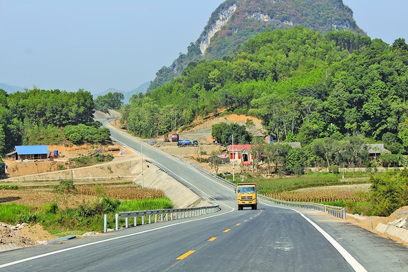 Đường Thái Nguyên - Chợ Mới tạo đột phá về hạ tầng giao thông của Bắc Kạn.