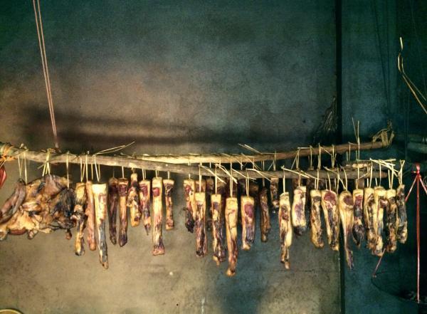 Món Thịt Lợn hun khói
