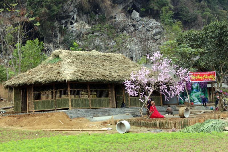 Công ty CP Hà Linh đang đầu tư xây dựng cơ sở vật chất để phát triển khu du lịch sinh thái.