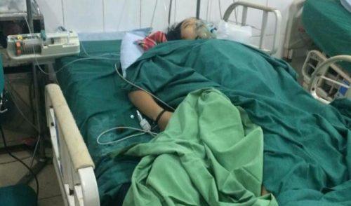 Hai bệnh nhân còn lại đang được điều trị tích cực tại bệnh viện. Ảnh Môi trường V. cuộc sống