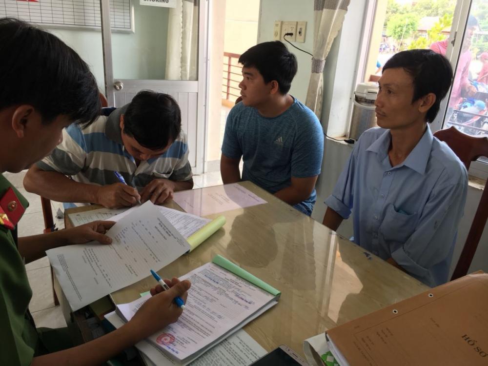 Các đối tượng ký nhận quyết định xử phạt vi phạm hành chính