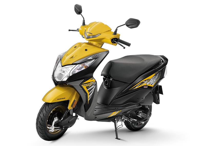 Honda Dio Deluxe có giá khoảng hơn 18 triệu đồng tại Ấn Độ.