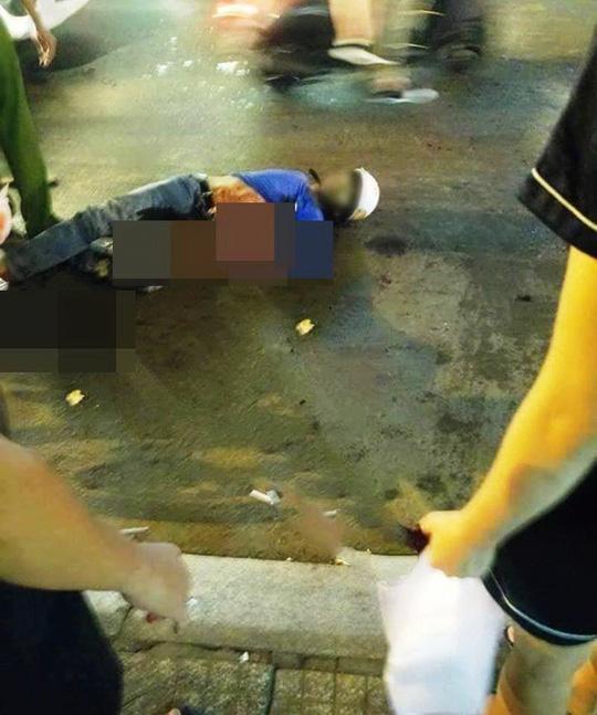 Một hiệp sĩ bị đâm tử vong khi vây bắt nhóm trộm ở Sài Gòn Ảnh: Sỹ Hưng