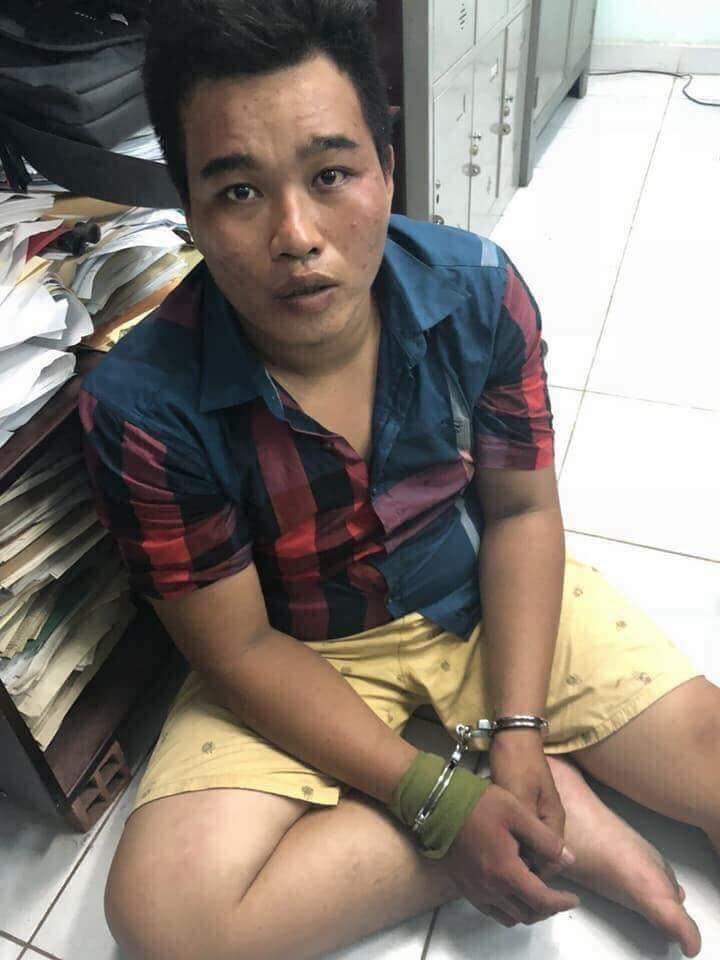 Nguyễn Hoàng Châu Phú bị bắt giữ.