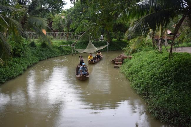 Một góc làng Hòa An. Ảnh: Tùng Thiện