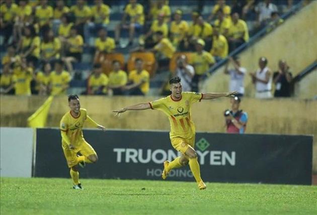 Nam Định đang dần thi đấu ổn định.