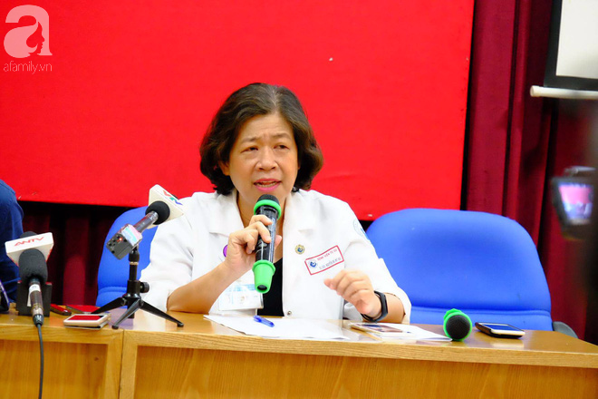 Bác sĩ Nguyễn Bá Mỹ Nhi, Phó Giám đốc BV Từ Dũ (TP.HCM).