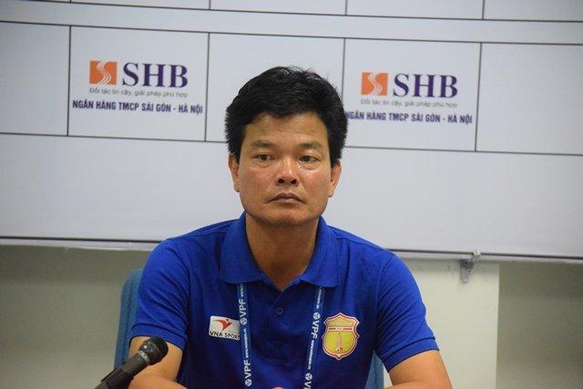 Thầy trò Nguyễn Văn Sỹ sẽ dồn sức cho trận đấu với Sài Gòn FC. Ảnh: Viết Định.
