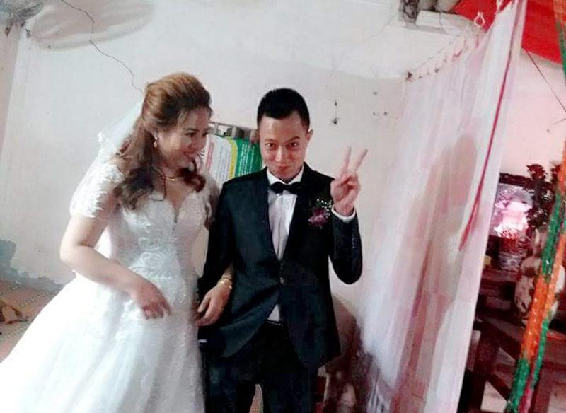 Ngày cưới cũng là ngày đầu tiên cô ra mắt nhà chồng. Ảnh: Nhân vật cung cấp.