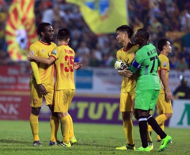 Nam Định đang có sự khởi sắc ở 2 vòng gần đây.