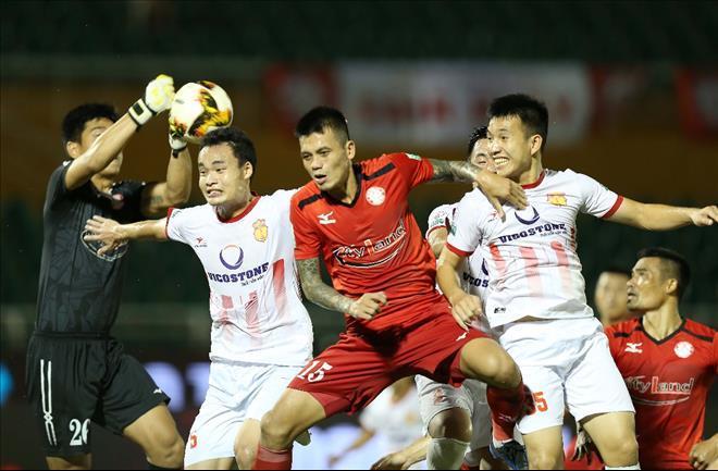 Nam Định có chiến thắng quý như vàng trước TPHCM - Ảnh VPF
