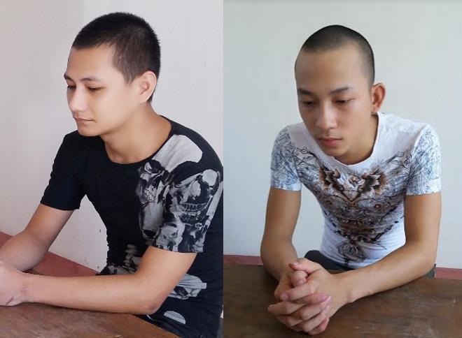 Lê Hữu Hoàng và  Bùi Quang Luật.