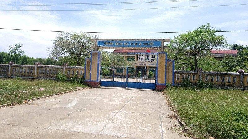 Ngôi trường nơi xảy ra sự việc