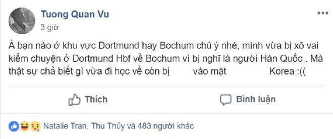 Câu chuyện được chia sẻ trong cộng đồng du học sinh Việt Nam tại Đức.
