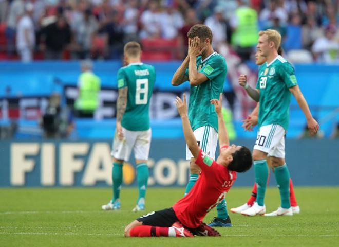 Đội tuyển Đức thất bại trước đại diện xứ kim chi. Ảnh: New York Times.