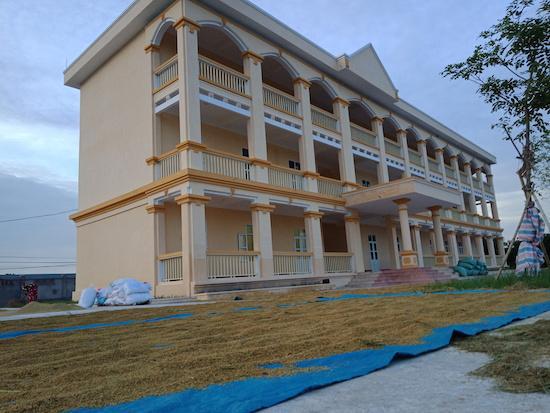 Trường THCS Nghĩa An vừa được xây dựng gần 10 tỷ đồng tại thôn Vân Đồn hiện bỏ không