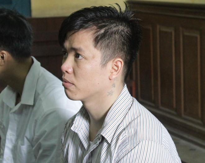 Bị cáo Vũ Huy Tĩnh tại tòa. Ảnh: Nguyễn Diễm.