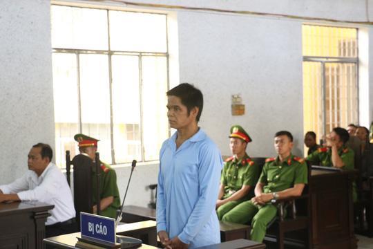 Y Nơn Hmok tại phiên tòa sơ thẩm